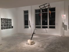 Guns in the Hands of Artists installation view, Deauville Hotel, Miami, 2015