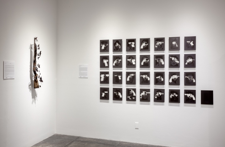 Guns in the Hands of Artists at Jonathan Ferrara Gallery for P.3+